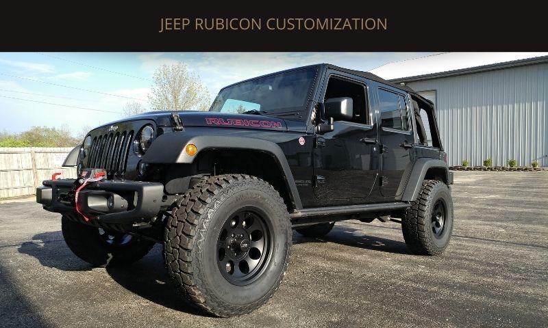 Jeep Rubicon Customization